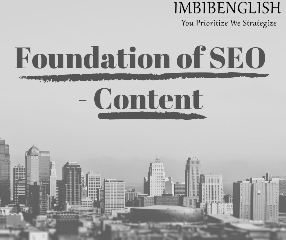 Foundation of Search Engine Optimization is Quality Content